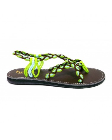 TWIST MYKONOS  M31-1 GREEN BANANA-JADE BLUE-TAN