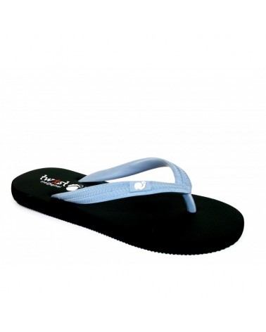 TWIST FLIP-FLOP BLACK-GREY