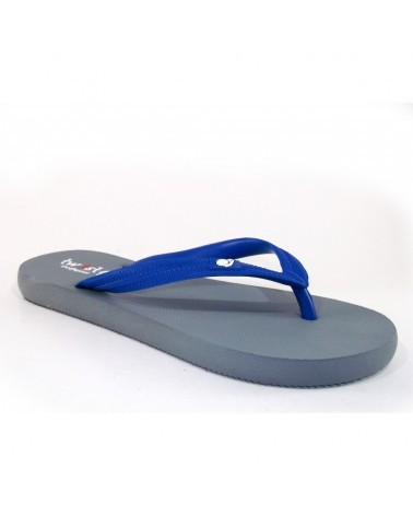 TWIST FLIP-FLOP GREY-BLUE