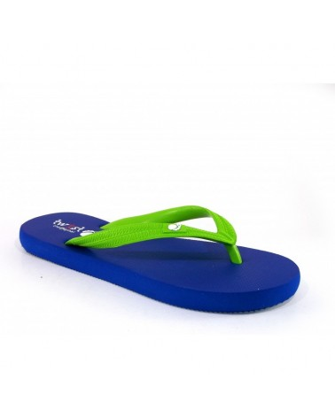 TWIST FLIP-FLOP D. BLUE-L. GREEN