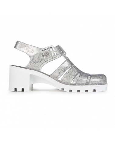 JUJU BABE JELLY MULTI GLITTER-WHITE