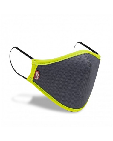 ON FOOT SMART MASK EAR GREY-YELLOW